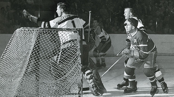 Canadiens-Bruins: 1946